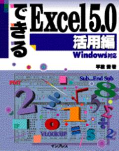 できるExcel5.0 活用編Windows対応
