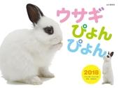 カレンダー2018 ウサギぴょんぴょん