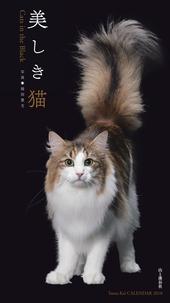 カレンダー2018 美しき猫 Cats in the Black