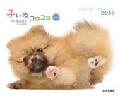 カレンダー2018 子いぬコロコロ mini ミニ 卓上版
