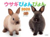 カレンダー2020 ウサギぴょんぴょん