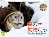 カレンダー2021 太田達也セレクション 森の動物たち Tiny Story in the Forests