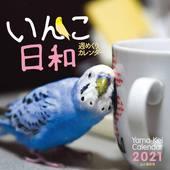 カレンダー2021 週めくりカレンダー いんこ日和