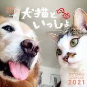 カレンダー2021 週めくりカレンダー 犬猫といっしょ