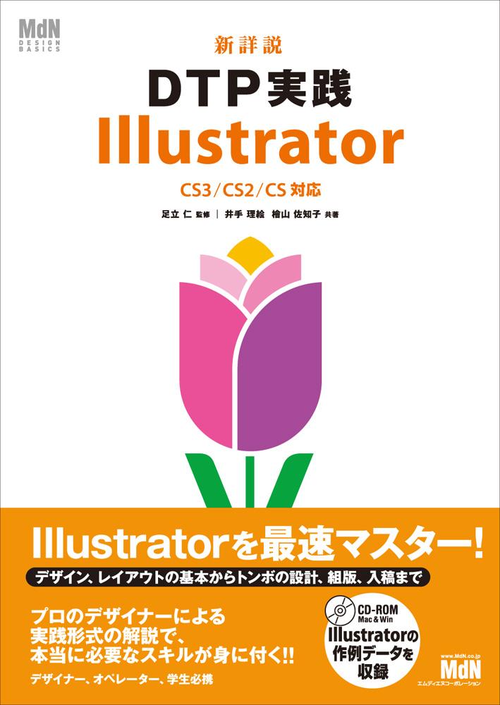 新詳説DTP実践 Illustrator CS3/CS2/CS対応