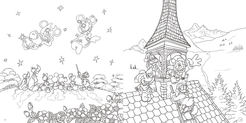 大人ディズニー 夢の世界へ 素敵な塗り絵レッスンブック株式会社